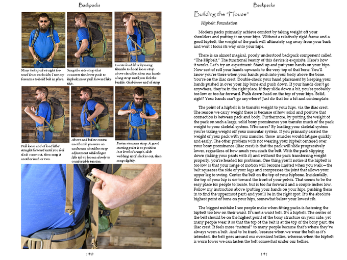 Step-by-step, detailed photos show you how to get a great fit, easily, every time