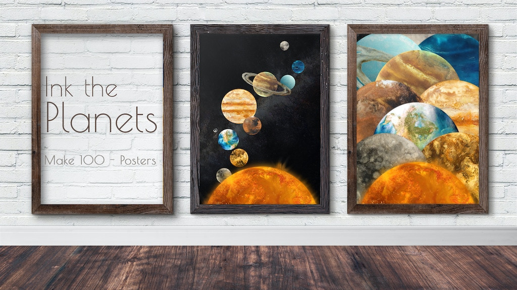 Ink The Planets - Make 100 project video thumbnail