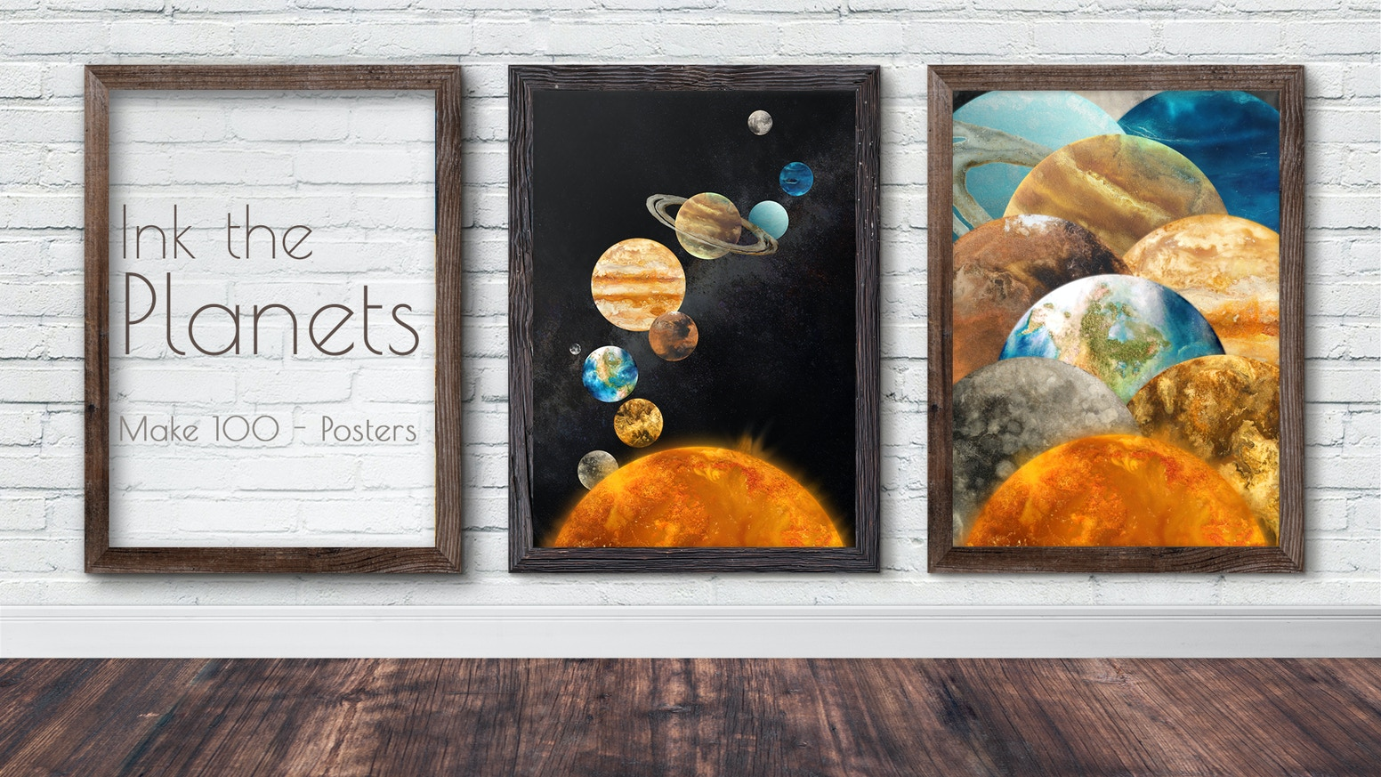 Explore our planets through art in these beautiful, limited edition posters.