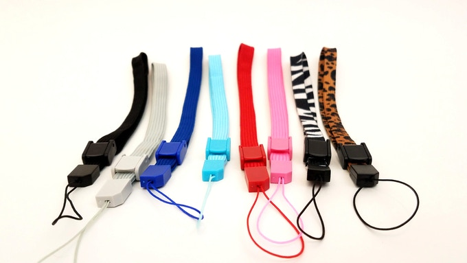 For our launch we will be offering the following strap colors: Black, Gray, Blue, Aqua Blue, Red, Pink, Zebra, and Leopard. We will be offering more colors in the future.