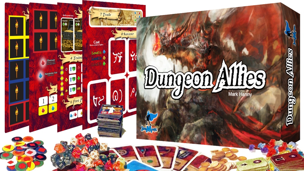 Dungeon Allies - Complete with 5 full sets of dungeon dice! project video thumbnail
