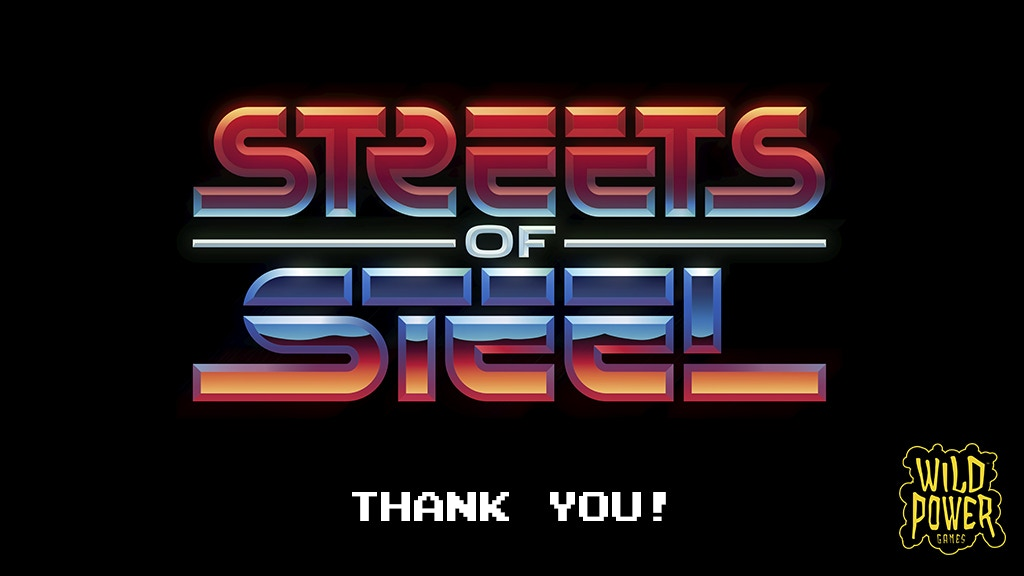 STREETS OF STEEL: The SideScrollin' Beat'em Up Boardgame project video thumbnail