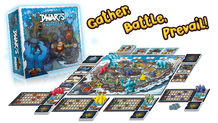 A hand-building, worker placement, resource management game with tower defense elements for 1 to 4 players.