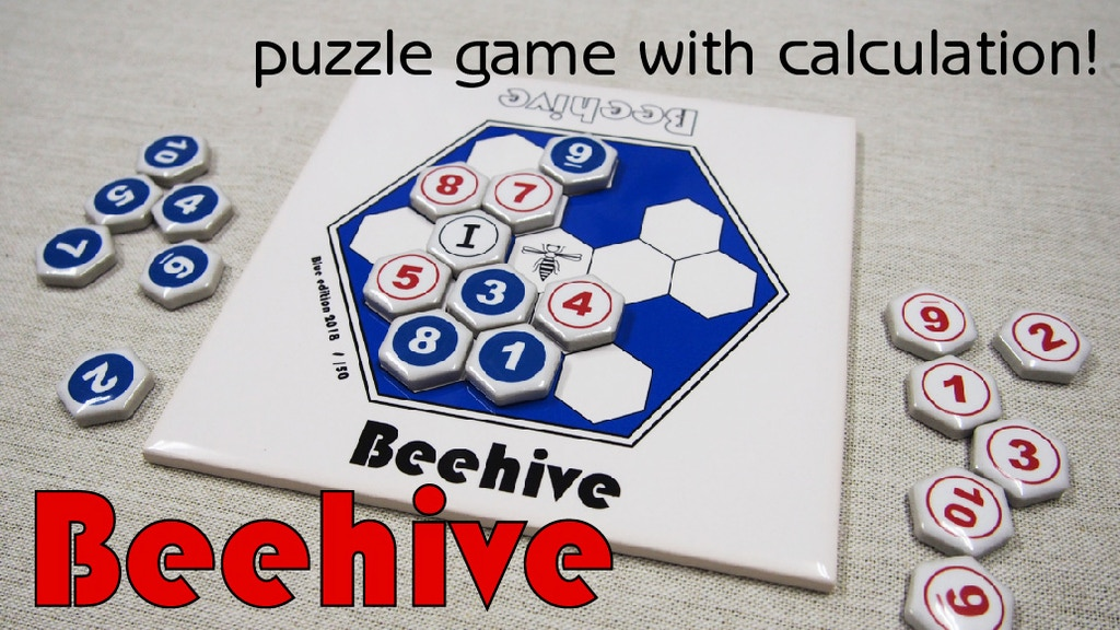 Beehive - A mathematics puzzle game project video thumbnail