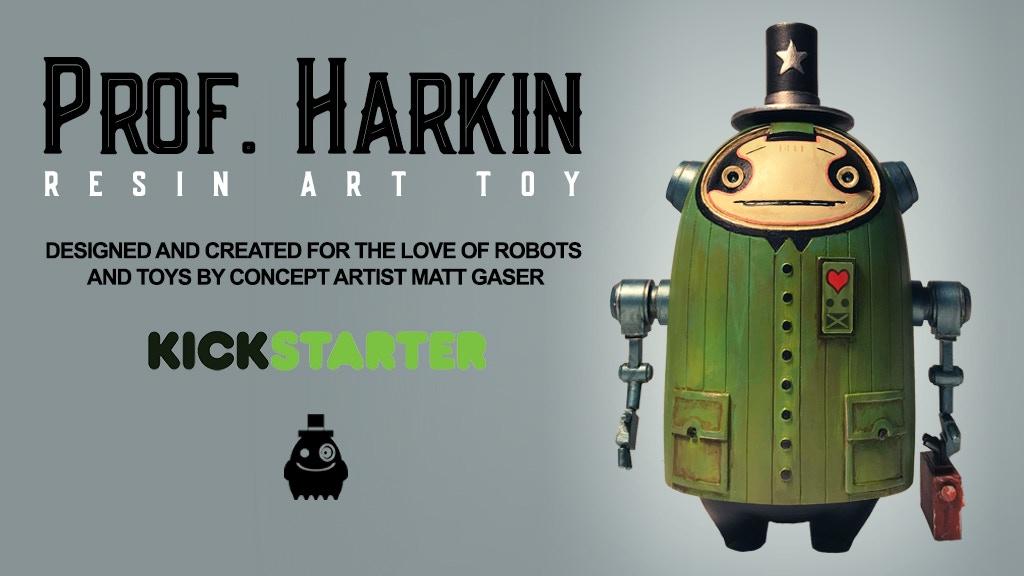 Prof. Harkin: Resin Art Toy project video thumbnail