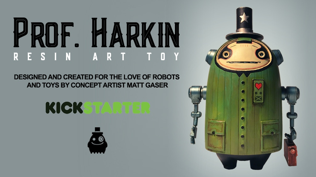 Prof. Harkin: Resin Art Toy project video thumbnail