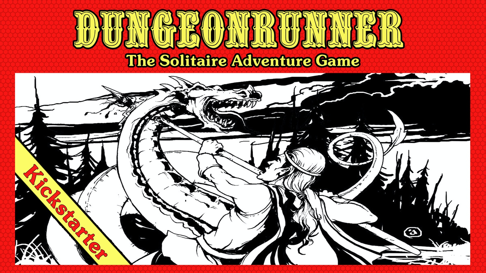 Dungeonrunner is a solitaire card game inspired by classic pen and paper fantasy RPGs.  Create your own adventure!