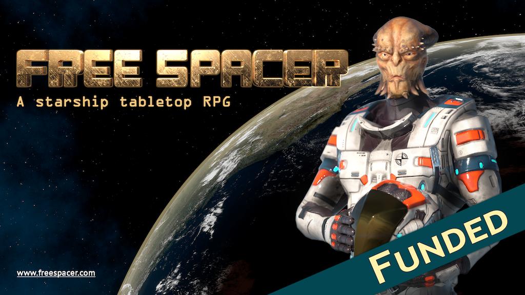 Free Spacer // a sandbox starship tabletop RPG project video thumbnail
