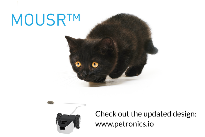 Mousr: The robotic mouse that plays with your cat by Petronics