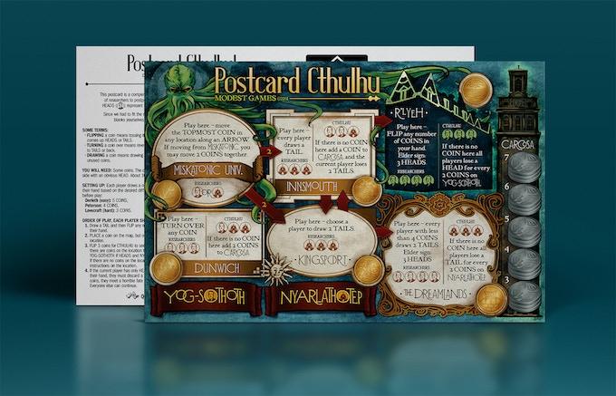 Postcard Cthulhu