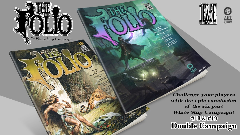 The Folio #18 & #19, 1E & 5E Adventures project video thumbnail