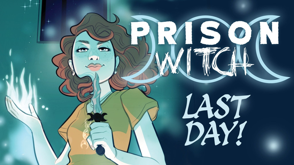 PRISON WITCH - a graphic novel about magic, love, & danger project video thumbnail