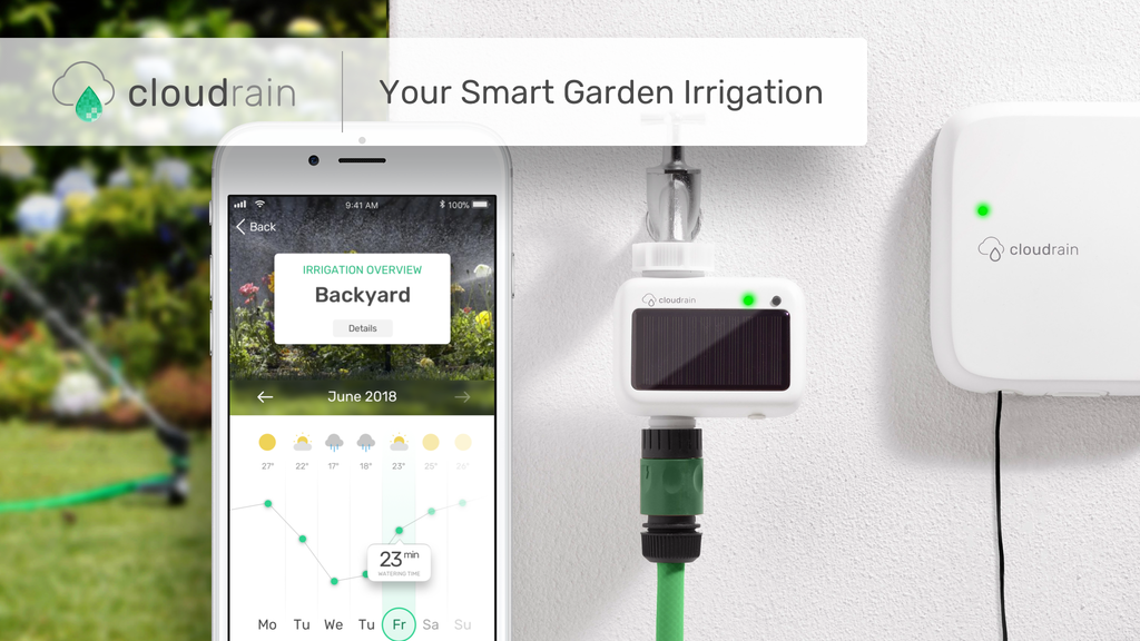 CloudRain. Your Smart Garden Irrigation. project video thumbnail