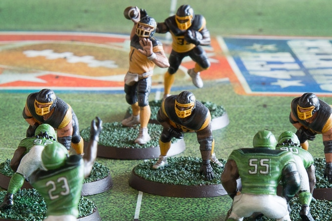 Fourth Quarter Football - Gridiron Miniature Game