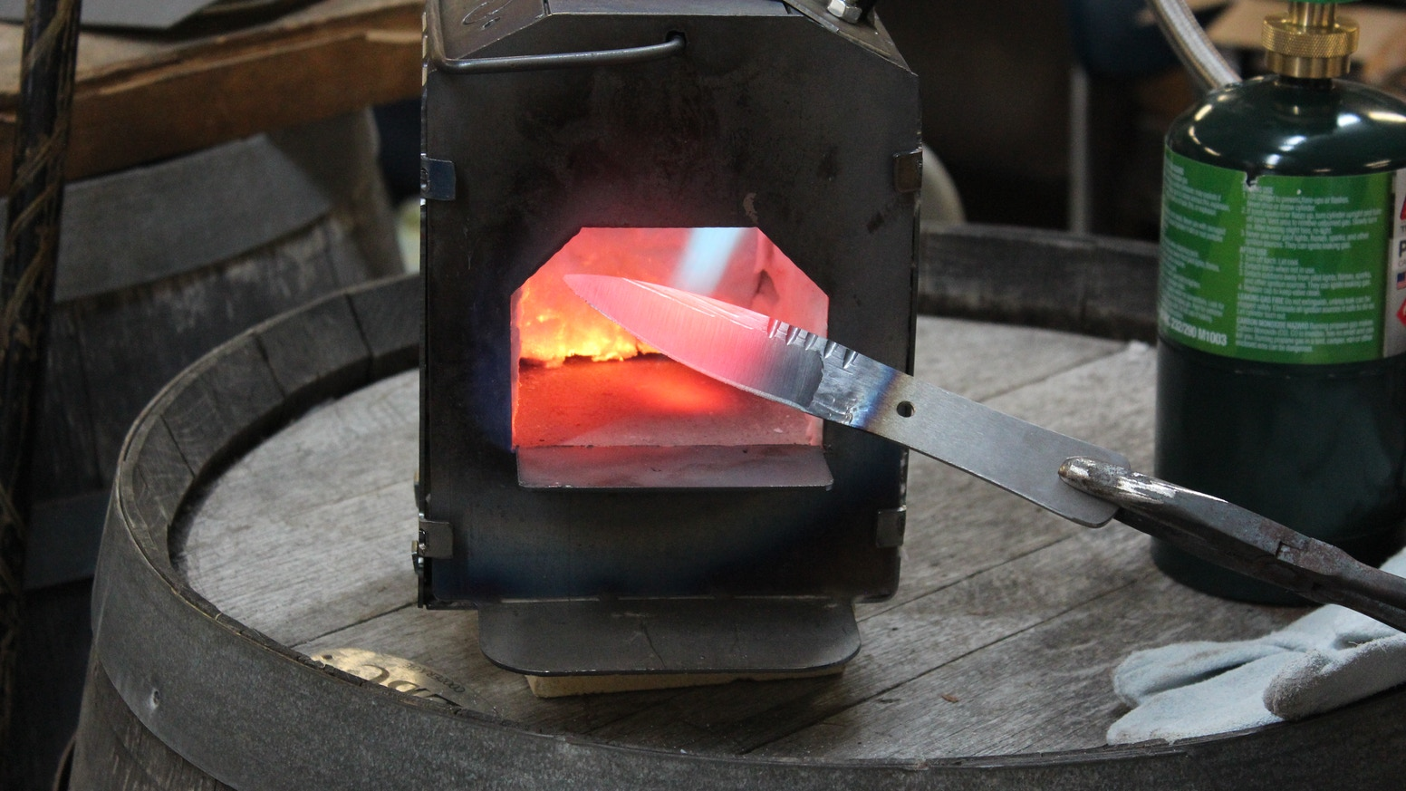 A Blacksmithing Shop for Everyone by Hank — Kickstarter