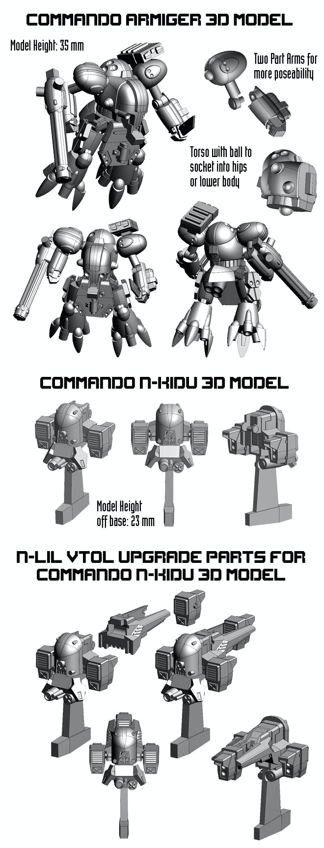 Heavy Gear Blitz Utopia Armed Forces Plastic Miniatures