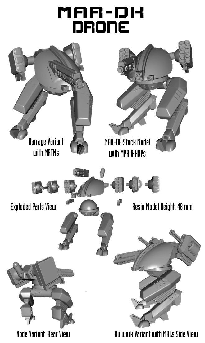 MAR-DK 3d Model Images.