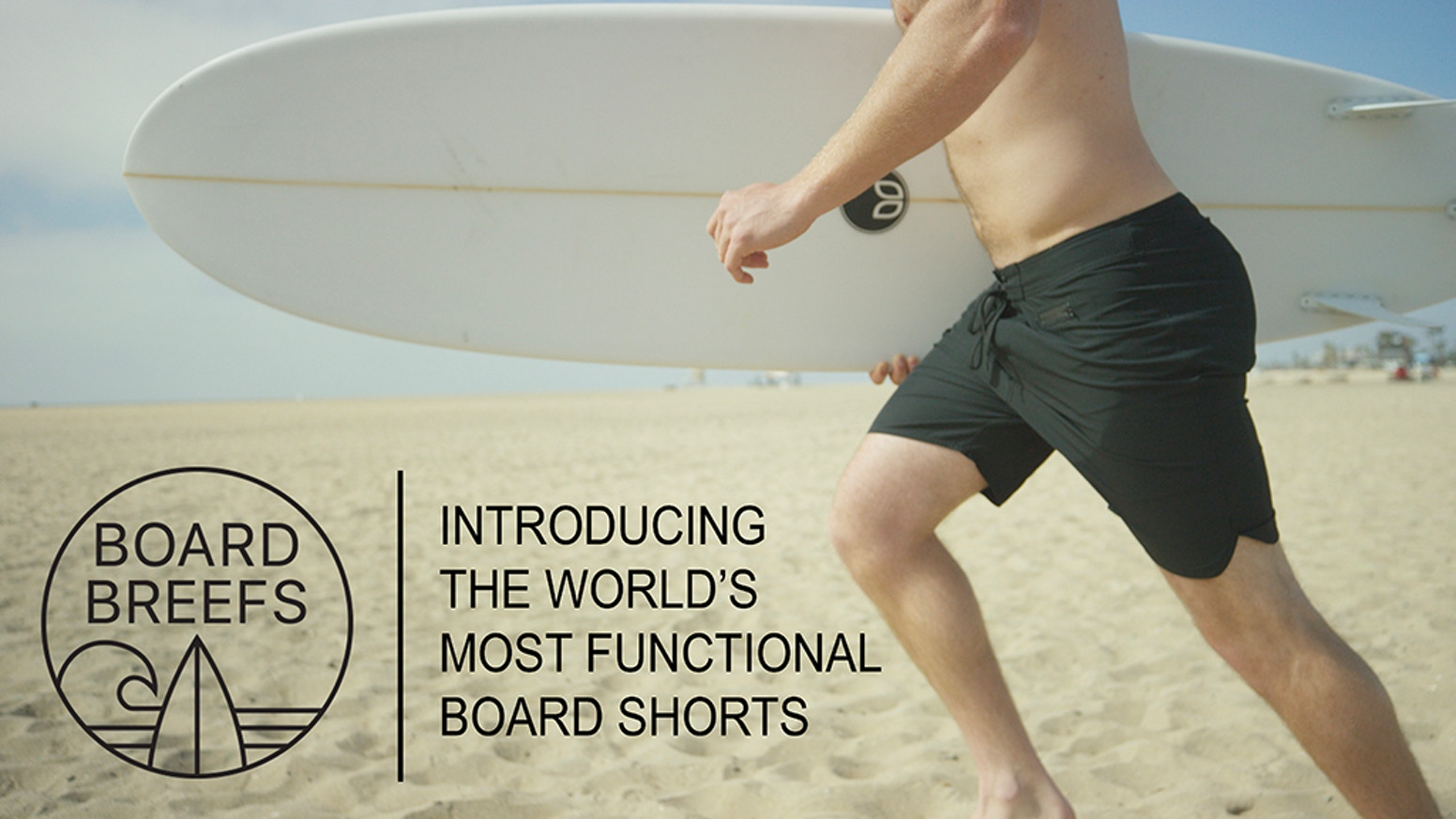 2651ee44ba The world's first board short with built-in boxer briefs. Designed to  prevent chafe