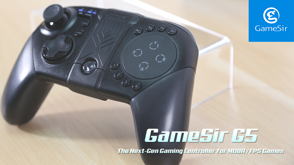 GameSir G5: The next-gen gaming controller for MOBAs & FPSs project video thumbnail