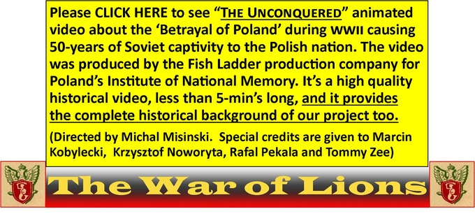 Accurate narration about the WWII plight of Poland and its post-war 50-year captivity to USSR.