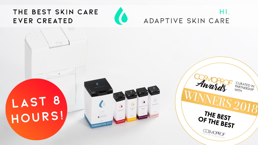 LESIELLE | The World's first Adaptive Skin Care project video thumbnail