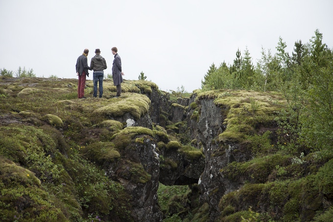 In Iceland, near Thingvellir with Stefan Boulter