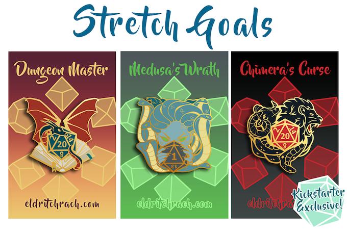 Stretch Goal Pins!