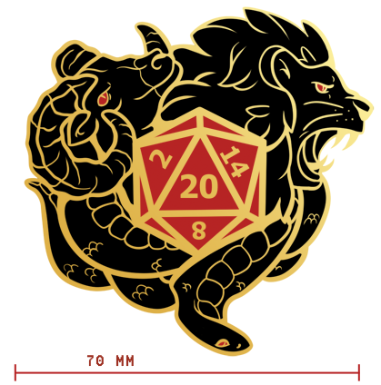 Mock up of the Patch