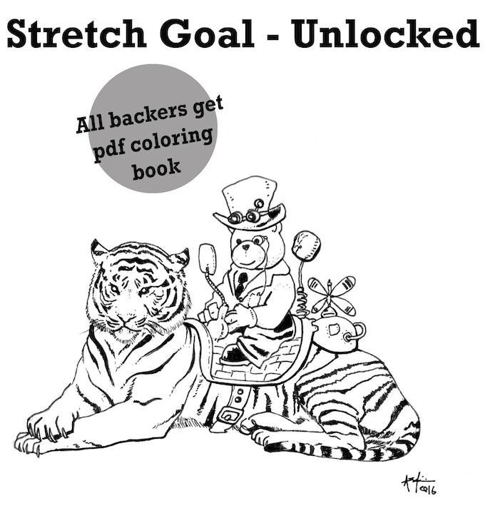 Make 100: SteamBear books by Andres Salazar —Kickstarter