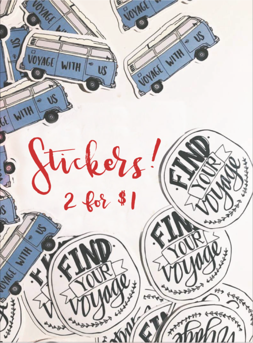 Stickers (don't mind the pricing)