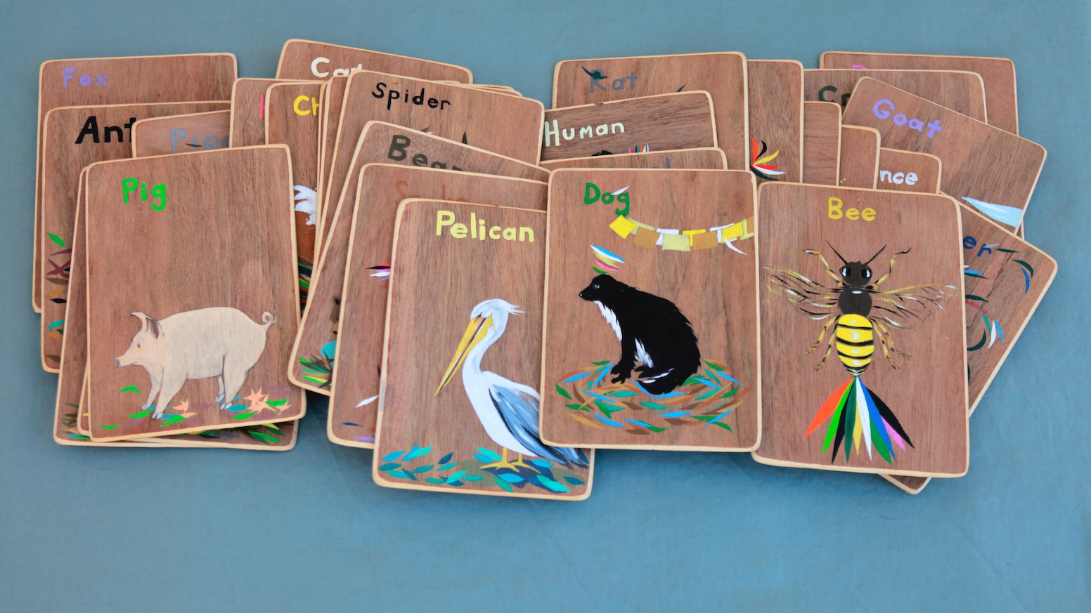 Hello Living Being .:.  Animal Medicine Cards share the wisdom of common Animals. Let's learn from each other !