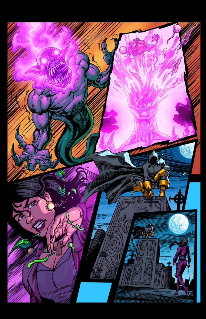 """PAGE 11 from the """"ALABASTER"""" comic book ISSUE #1"""