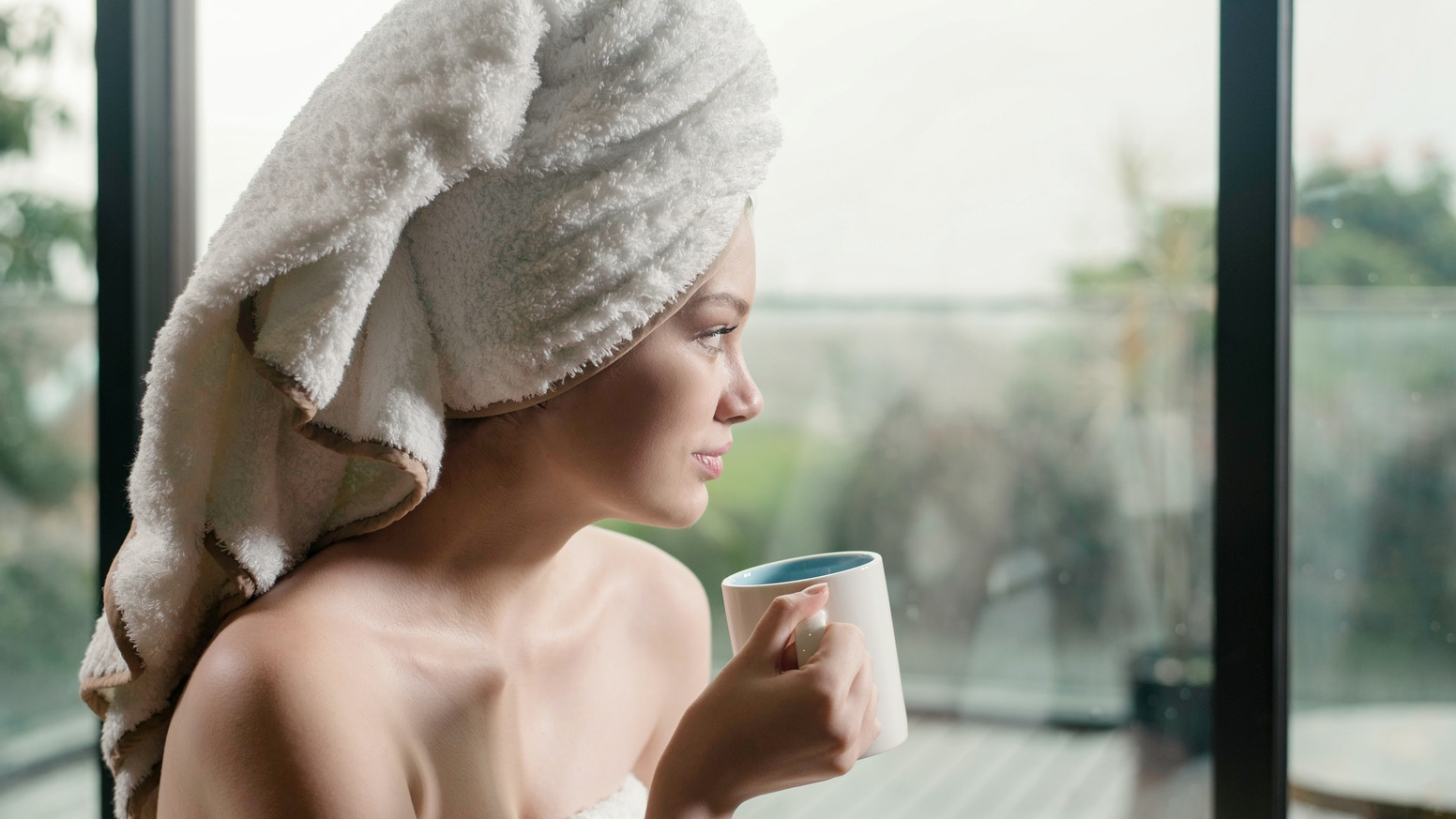 Natural. Organic. Biodegradable. A bath towel perfect for your skin and the environment.