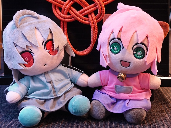 Suguri & Poppo chilling together