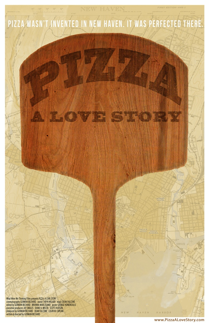 Official poster for PIZZA, A LOVE STORY