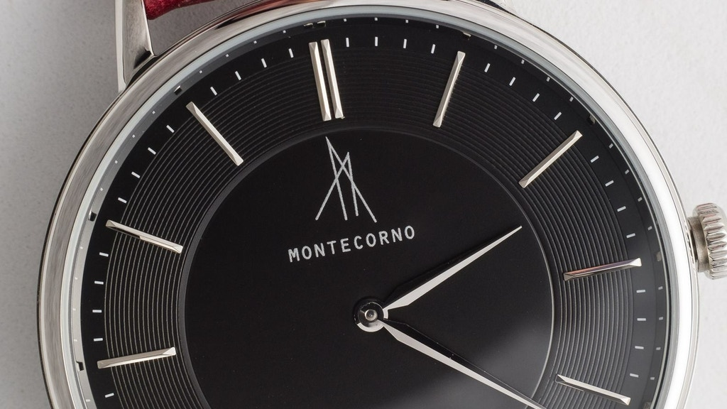 MONTECORNO: a unique Italian design luxury watch