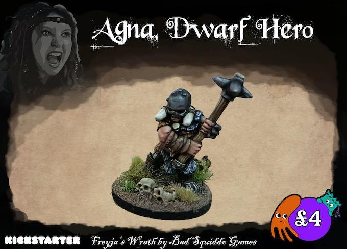 A single peice pewter cast. Dwarfs guard the mountain doors, often spoken of as the door between worlds.