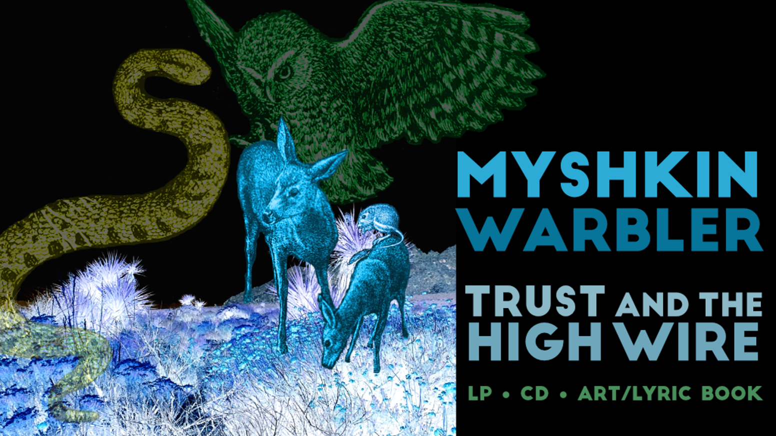 Trust and the High Wire — album by Myshkin Warbler by rubywarbler ...