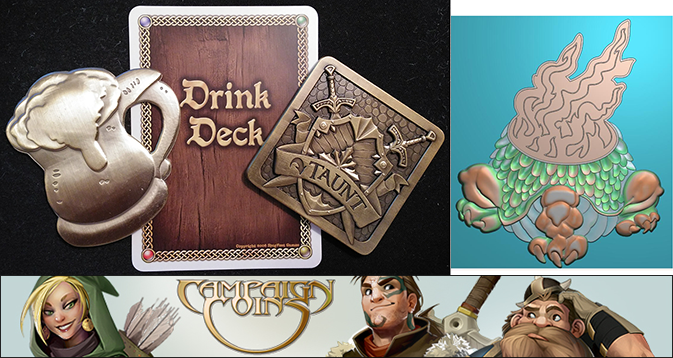 Sample turn markers and the new draft courtesy of Campaign Coins. Click here to check out their other cool stuff!