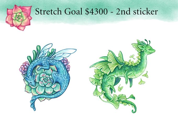Stretch goal - 2nd sticker