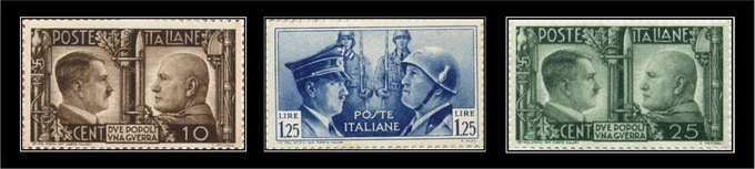 """STAMP CAPTION: """"Two Nations - One War"""""""