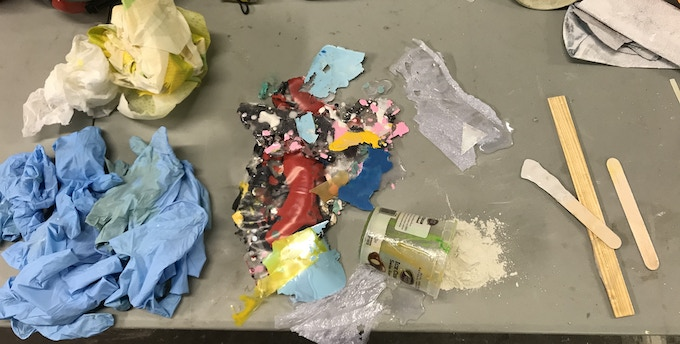 Different types of Surfboard Production Waste