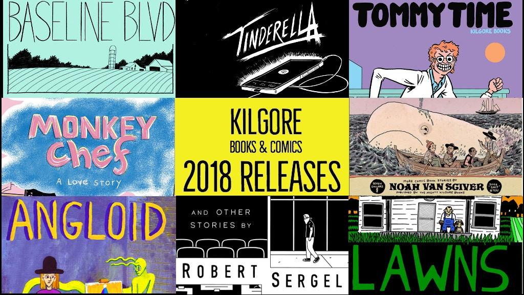 Kilgore Books & Comics 2018 Releases project video thumbnail