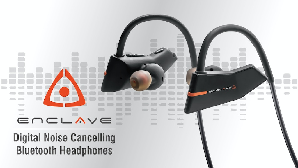Enclave | Digital Noise Cancelling Bluetooth Headphones project video thumbnail