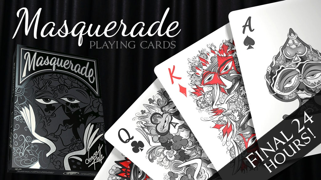 Masquerade Playing Cards by artist, Denyse Klette project video thumbnail