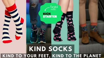 Kind Socks - Kind To Your Feet, Kind To The Planet