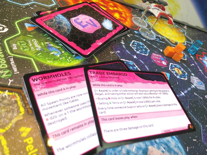 Experience a dynamic and changing universe with the new Event deck.