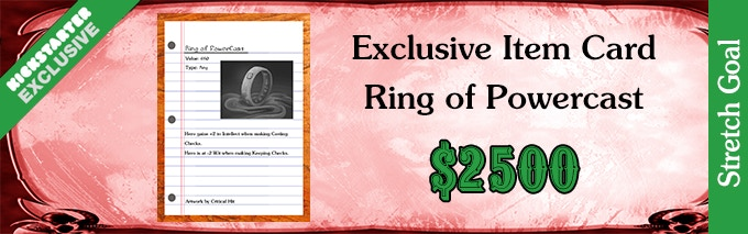 Stretch Goal Ring of Powercast 2500