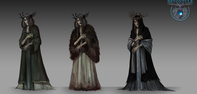 Bone Dancer Elder Concept