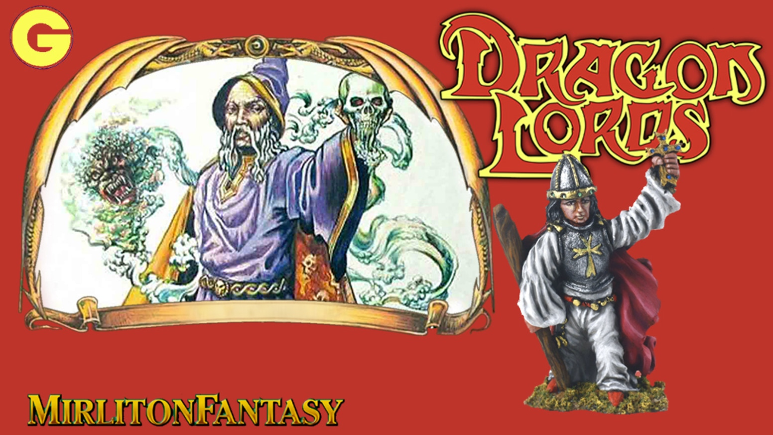 Metal Figure Set for fantasy gaming and collecting 25mm